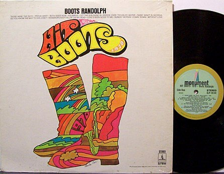 Randolph, Boots - Hit Boots 1970 - Vinyl LP Record - Country