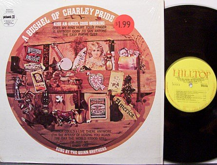 Quinn Brothers, The - A Bushel Of Charley Pride - Vinyl LP Record - Country
