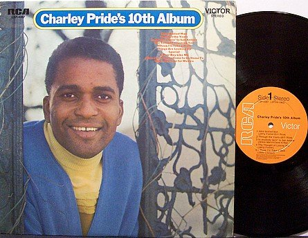 Pride, Charley - Charley Pride's 10th Album - Vinyl LP Record - Country