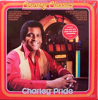 Pride, Charley - Country Classics - Sealed Vinyl LP Record - Country