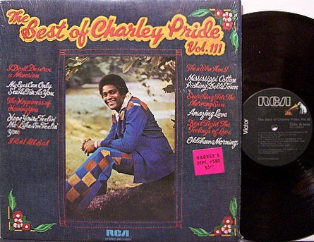 Pride, Charley - The Best Of Charley Pride Vol. III - Vinyl LP Record - Country