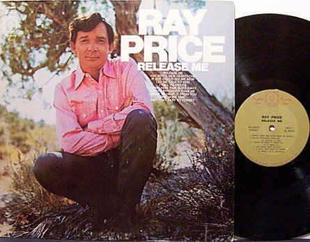 Price, Ray - Release Me - Vinyl LP Record - Country