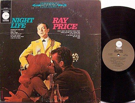 Price, Ray - Night Life - Vinyl LP Record - Country