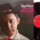 Price, Ray - Burning Memories - Vinyl LP Record - Country