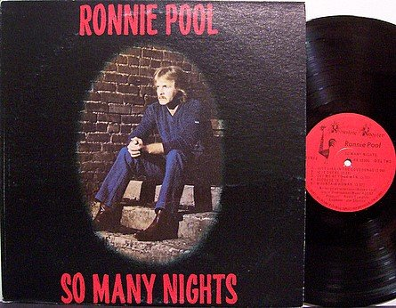 Pool, Ronnie - So Many Nights - Vinyl LP Record - Nashville Champ Studios - Country