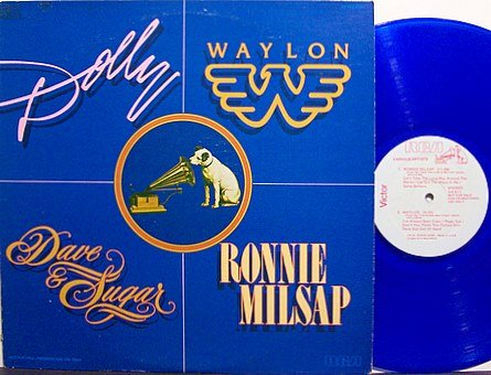 Parton, Dolly - Colored Vinyl Promo Only Vinyl LP Record - 1978 - Country