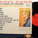 Page, Patti - Sings Country And Western Golden Hits - Vinyl LP Record