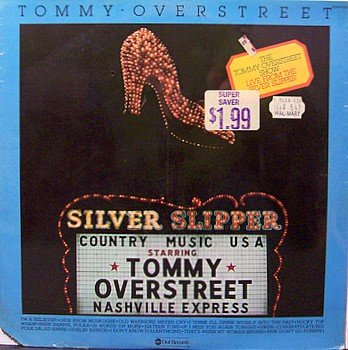 Overstreet, Tommy - Live From The Silver Slipper - Sealed Vinyl LP Record - Country