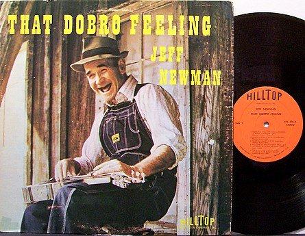 Newman, Jeff - That Dobro Feeling - Vinyl LP Record - Bluegrass