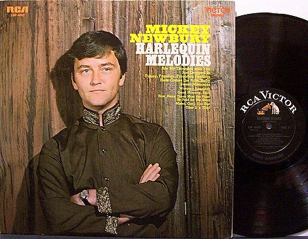 Newbury, Mickey - Harlequin Memories - Vinyl LP Record - Country