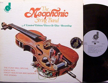 Neophonic String Band - Self Titled - Vinyl LP Record - Bluegrass
