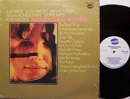 Nashville Wives - Dolly Parton / Melba Montgomery etc - Vinyl LP Record - Country