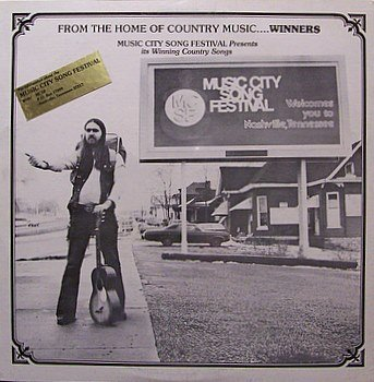 Music City Song Festival - Sealed Vinyl LP Record - 1979 Private Nashville Country