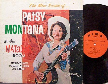 Montana, Patsy - At The Matador Room - Vinyl LP Record - Country