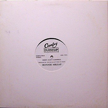 Milsap, Ronnie - Country Closeup Radio Show - Vinyl LP Record