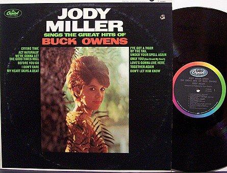 Miller, Jody - Sings The Great Hits Of Buck Owens - Vinyl LP Record - Country