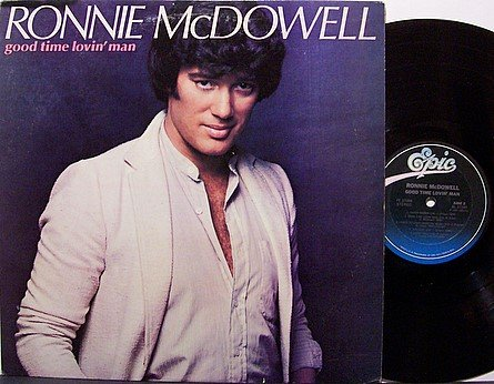 McDowell, Ronnie - Good Time Lovin' Man - Vinyl LP Record - Promo - Country