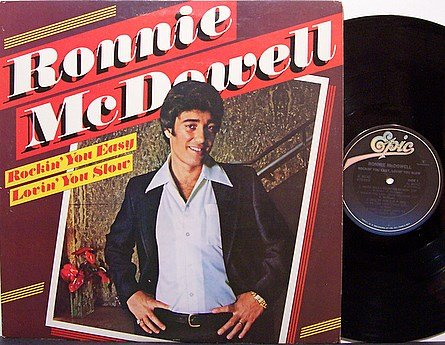 McDowell, Ronnie - Rockin' You Easy Lovin' You Slow - Vinyl LP Record - Promo - Country
