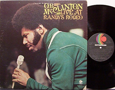 McClinton, O.B. - Live At Randy's Rodeo - Vinyl LP Record - Country