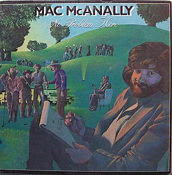 McAnally, Mac - No Problem Here - Sealed Vinyl LP Record - Country