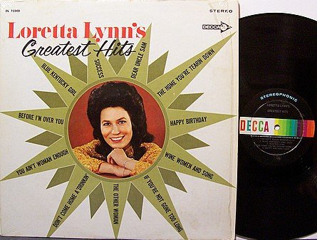 Lynn, Loretta - Loretta Lynn's Greatest Hits - Vinyl LP Record - Country