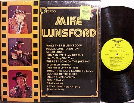 Lunsford, Mike - Self Titled (Starday #951) - Vinyl LP Record - Country