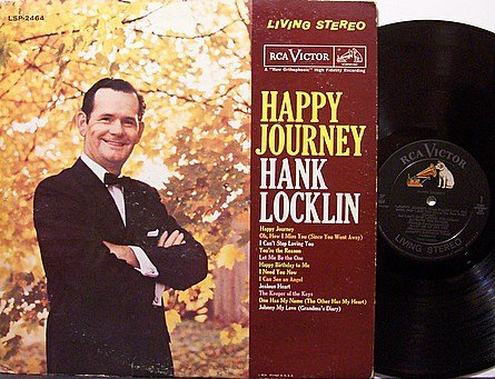 Locklin, Hank - Happy Journey - Vinyl LP Record - Country