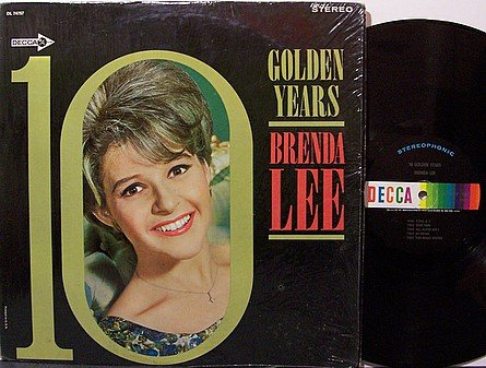 Lee, Brenda - 10 Golden Years - Vinyl LP Record - Country