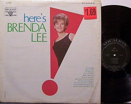 Lee, Brenda - Here's Brenda Lee - Vinyl LP Record - Country