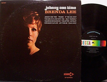 Lee, Brenda - Johnny One Time - Vinyl LP Record - Country
