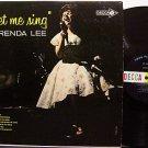 Lee, Brenda - Let Me Sing - Vinyl LP Record - Country