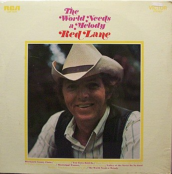 Lane, Red - The World Needs A Melody - Sealed Vinyl LP Record - Country