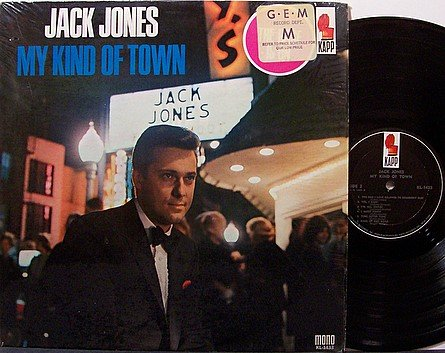 Jones, Jack - My Kind Of Town - Vinyl LP Record - Country Pop