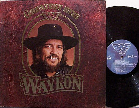 Jennings, Waylon - Greatest Hits - Vinyl LP Record - Country
