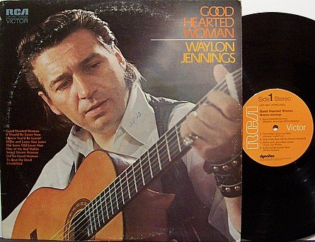 Jennings, Waylon - Good Hearted Woman - Vinyl LP Record - Country