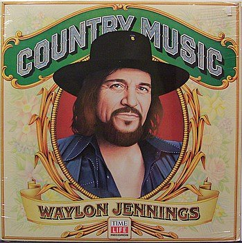 Jennings, Waylon - Country Music - Sealed Vinyl LP Record - Country