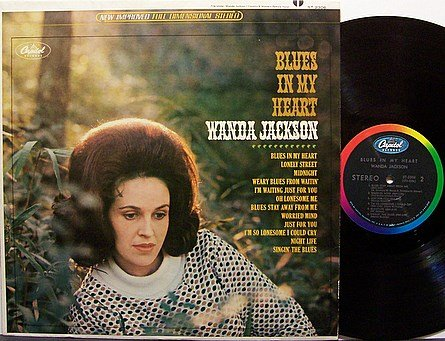 Jackson, Wanda - Blues In My Heart - Vinyl LP Record - Country