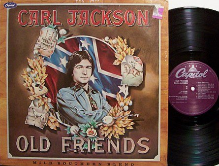 Jackson, Carl - Old Friends - Vinyl LP Record - Country