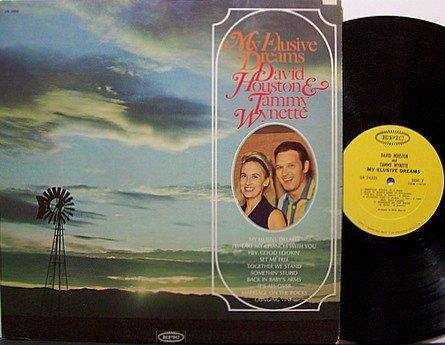 Houston, David & Tammy Wynette - My Elusive Dreams - Vinyl LP Record - Country