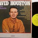 Houston, David - New Voice From Nashville - Vinyl LP Record - Country