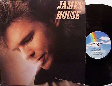 House, James - Self Titled - Vince Gill - Vinyl LP Record - Promo - Country
