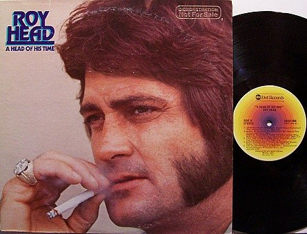 Head, Roy - A Head Of His Time - Vinyl LP Record - Promo - Country