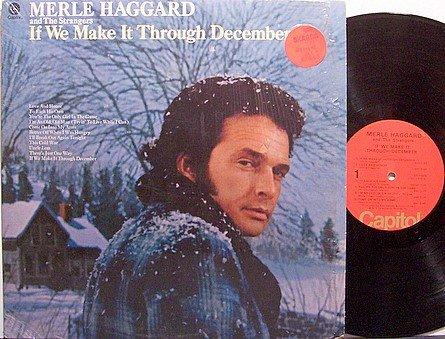 Haggard, Merle - If We Make It Through December - Vinyl LP Record - Country