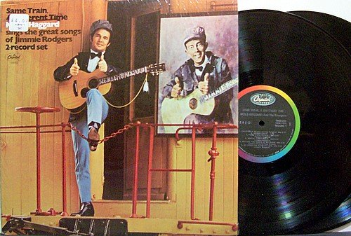 Haggard, Merle - Same Train Different Time - Vinyl 2 LP Record Set - Country