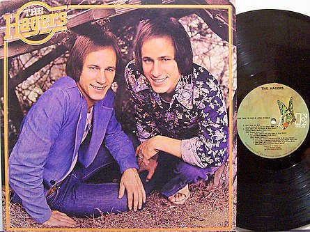 Hagers, The - Self Titled - Vinyl LP Records - Hee Haw Hager Twins - Country