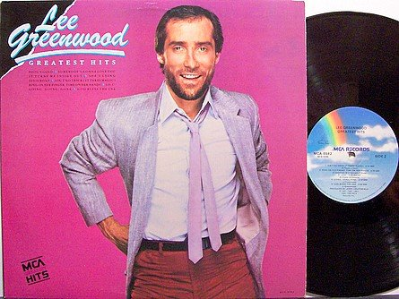 Greenwood, Lee - Greatest Hits - Vinyl LP Record - Country