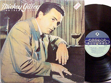 Gilley, Mickey - Down The Line - Vinyl LP Record - Rockabilly Country