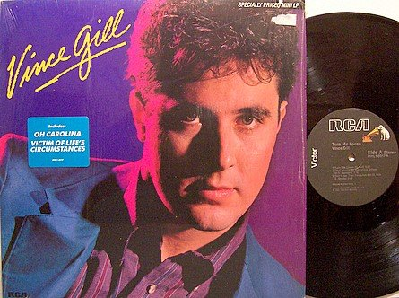 Gill, Vince - Turn Me Loose - Vinyl Mini LP Record - Country