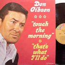 Gibson, Don - Touch The Morning - Vinyl LP Record - Country