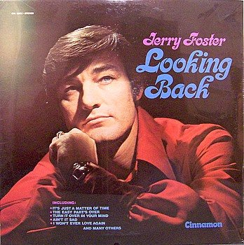 Foster, Jerry - Looking Back - Sealed Vinyl LP Record - Country